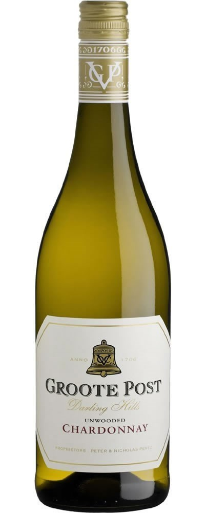 Groote Post Unwooded Chardonnay 2020