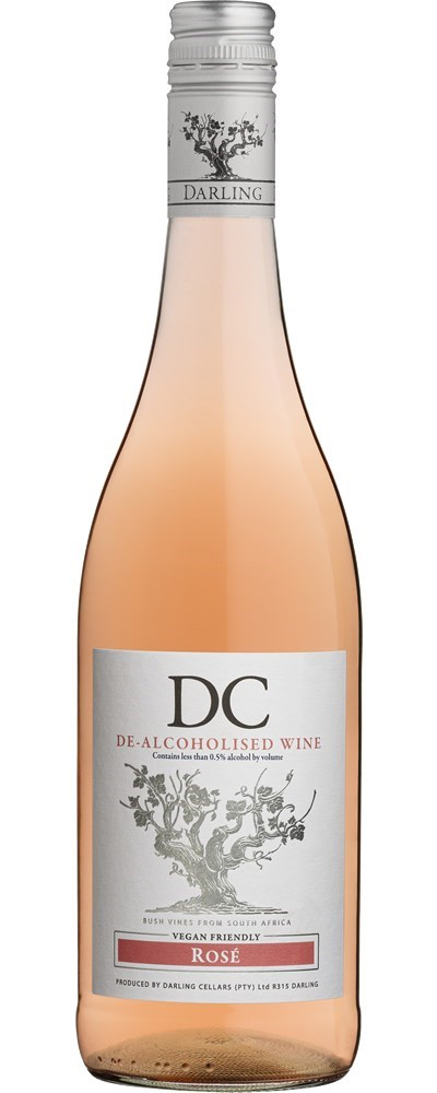 DC De-alcoholised DC Rosé NV