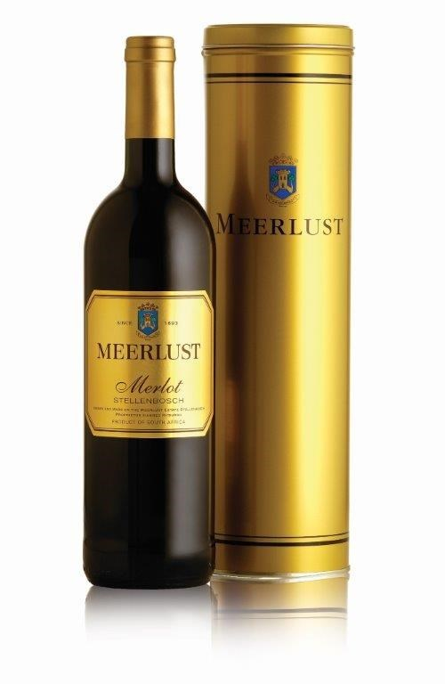 Meerlust Merlot Collector`s Tin 750ml