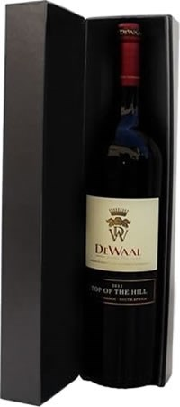 DeWaal Top of the Hill Pinotage 2013 Gift Box