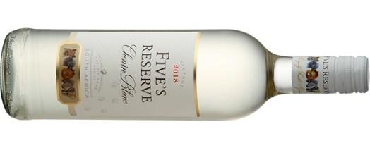 Kết quả hình ảnh cho fives reserve chenin blanc